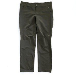 REI CO OP Women's Green Semi Fitted Pants 14